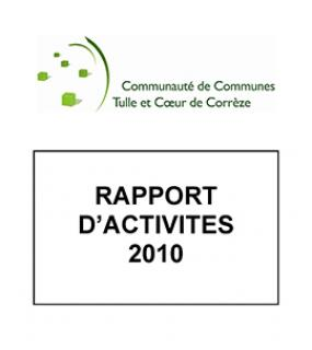 Rapports d'activités Tulle agglo 2010