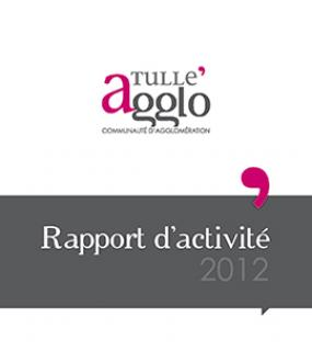 Rapports d'activités Tulle agglo 2012