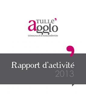 Rapports d'activités Tulle agglo 2013