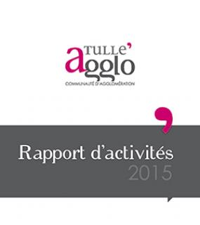 Rapports d'activités Tulle agglo 2015